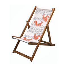 Thornback & Peel Squirrel & Nut Deckchair