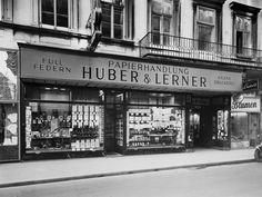 Huber & Lerner, old shop, Vienna