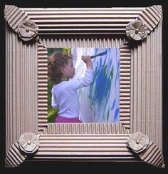 carton-ondulé cadre