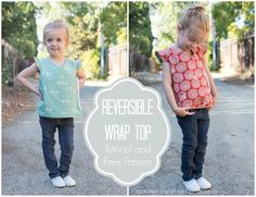 reversible wrap top tutorial and free pattern for birch fabrics! (oh, and a giveaway!) - craftiness is not optional