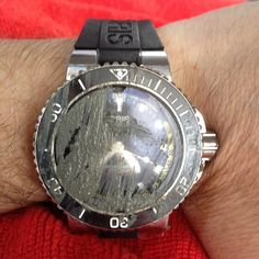 """""""Dirty but fun. The Oris Aquis Depth Gauge watch after a freedive with Carlos Coste. The mud proves I got to the bottom (way shallower than their usual),…"""" Oris Aquis, Shallow, Gauges, Michael Kors Watch, Mud, Bracelet Watch, Watches, Bracelets, Instagram Posts"""