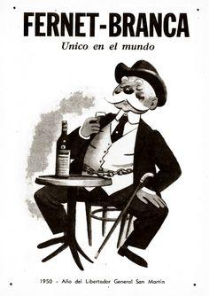 Fernet BRANCA, 1950.