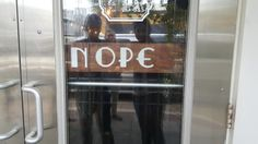 This sign that lets you move the N to indicate when your store is closed. | 29 Things That Are Just So Frickin' Smart
