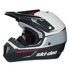 2016 Ski-Doo XC-4 Cross Drift Helmet - Black
