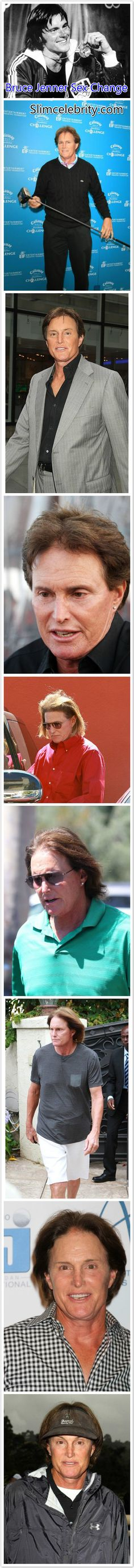 Bruce Jenner sex change before and after!  See more here! http://slimcelebrity.com/plastic-surgery/bruce-jenner-sex-change-plastic-surgery-before-and-after/
