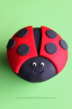 ladybug, this is too cute for either a little girls' birthday - but also for a picnic party