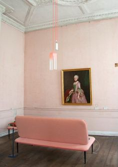 >>> soft regal pink room | Gradient Lamp