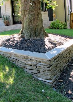 Great Tips Of How To Build Stacked Stone Walls In The Garden
