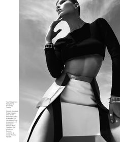 Anastasia Kolganova Gets High for Harpers Bazaar Latin America June 2013 - Fashion Gone Rogue: The Latest in Editorials and Campaigns