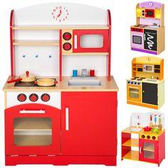 Cocina de madera de juguete para niños juguete juego de rol toy in Juguetes, Juegos educativos | eBay