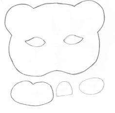 Eu Amo Artesanato: Máscara de bichinhos em eva com molde