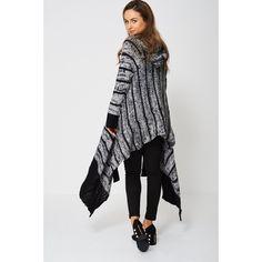 Black Longline Knitt