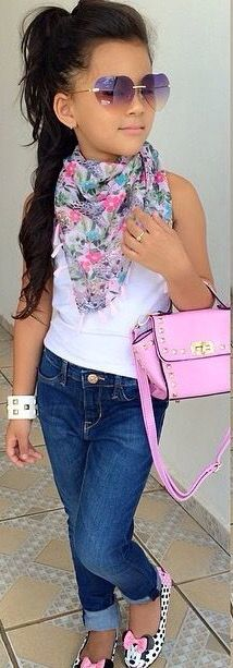 A cute casual look for daytime cool!