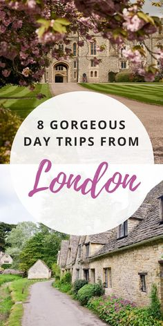 While London is wonderful, sometimes you need a little escape from the bustling city! Here are 8 stunning day trips to see more of England. #londondaytrips #englandtravel #uktravel