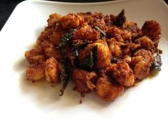 Prawns Fry Recipe - How To Make Indian Style Prawns Fry Recipe - Shrimp ...