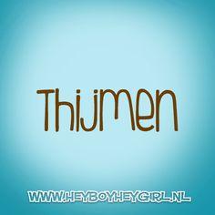 Thijmen (Voor meer inspiratie, en unieke geboortekaartjes kijk op www.heyboyheygirl.nl)