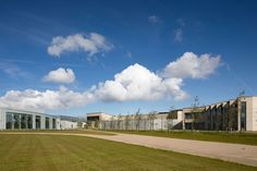 Storstrøm Prison, new Danish state prison focusing on resocialisation through architecture and community thinking, by C. Prison, How To Plan, Mansions, Care Homes, Architecture, House Styles, World, Danish, Community