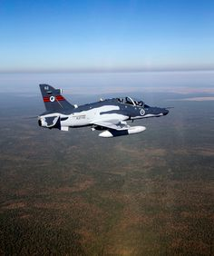 A Royal Australian Air Force HAWK MK127 jet aircraft, soars over Kakadu National Park, Northern Territory, while on Exercise Northern Phoenix 2015. Number 79 Squadron from RAAF Base Pearce will be conducting Exercise Northern Phoenix 2015 (NP15) at RAAF Base Darwin during 1-21 May 15 as part of Number 49 Introduction to Fighter Course. The exercise, which is traditionally held at RAAF Base Learmonth, was diverted to RAAF Darwin at short notice as a result of damage to the airfield caused by…