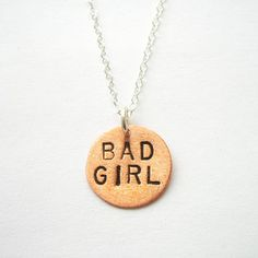 Bad Girl Necklace, $28, now featured on Fab.