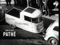 """""""Both Electric"""" car designed by Edward and Don Both. Severe petrol rations were introduced in Australia in Australia. M/S's of an electric car turning . Electric Car, Car Ins, Science And Technology, Travel Style, Turning, Australia, History, Youtube, Life"""