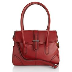 Barr and Barr Genuine Leather Front Flap Satchel