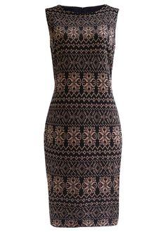 Vestido tubinho de malha premium preto                                                                                                                                                                                 Mais