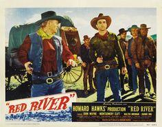 Río Rojo es una película de 1948 protagonizada por John Wayne y Montgomery Clift. La producción, dirigida por Howard Hawks, es incluida por...