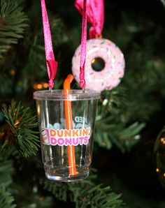 Balent Times: Friday Favorites—Dunkin Donuts Christmas Ornament 2011
