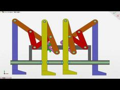 Chebyshev Plantigrade Machine 切比雪夫 - YouTube
