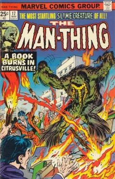 Marvel Man Thing issue 17 - Google Search