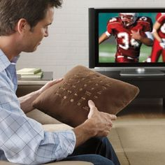 Want A Couch Pillow That Changes Channels On Your TV? ... see more at InventorSpot.com