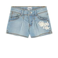 Mayoral - Jean shorts with lace - 174227