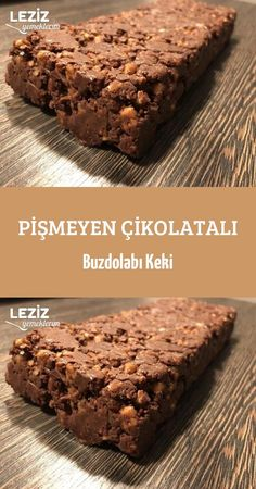 Uncooked Chocolate Fridge Cake - kuchenrezepte home Easy Cake Recipes, Easy Desserts, Dessert Recipes, Chocolate Fridge Cake, Good Food, Yummy Food, Tea Time Snacks, Turkish Recipes, Cupcakes