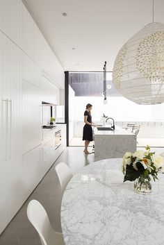 Peekaboo House by Carter Williamson Architects Architecture Awards, Residential Architecture, Black And Grey Kitchen, Architects Sydney, My Dream Home, Dream Homes, Interior Inspiration, Kitchen Inspiration, Contemporary Interior