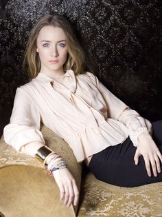 Saoirse Ronan in Vogue Photoshoot