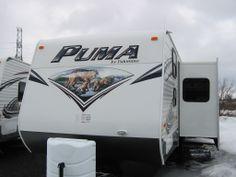 2014 Puma 30FBSS front  http://www.kingstonrv.com/