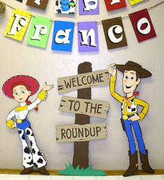 Custom Order Toy Story Decorations by CSCuteCrafts.