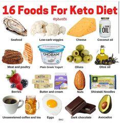 16 foods for keto diet. Keto for beginners. 16 foods for keto diet. Keto for beginners. ,Keto diet 16 foods for keto. Keto Food List, Food Lists, Keto Foods, 7 Keto, Keto Carbs, Vegetarian Keto, Vegan Keto, Paleo Diet, Comida Keto