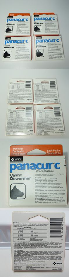 Wormer Products 117432: 4 Boxes Panacur C Canine Dog Dewormer 12 Packs Each Packet Treats 40 Lb Exp 7/19 -> BUY IT NOW ONLY: $49.95 on eBay!