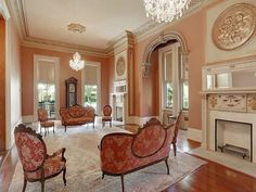 Southern Mansion in New Orleans Louisiana