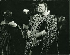 Luciano Pavarotti as The Duke of Mantua in The Royal Opera revival of 'Rigoletto' 1970/71  © 1971 Royal Opera House/Donald Southern. www.roh.org.uk