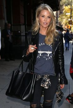 John Mellencamp and Christie Brinkley Go out in New York City