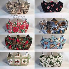 Changeable Christmas Purse Covers, Changeable Bag Covers, Purse Covers, Hand Made Purse Covers, Bag Covers by PamsBeadedTreasure on Etsy