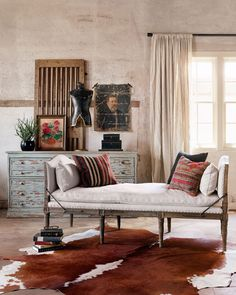 Bungalow, Interior Exterior, Interior Design, End Of Bed Bench, Diy Home, Home Decor, Oak Bench, Living Spaces, Living Room
