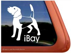 iBay Beagle Dog Vinyl Window Auto Decal Sticker NickerStickers http://www.amazon.com/dp/B00504RLHG/ref=cm_sw_r_pi_dp_yJaxvb0N05CW8