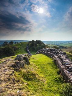 Hadrian's Wall - Northumberland National Park, England(via Pinterest: Discover and save creative ideas)