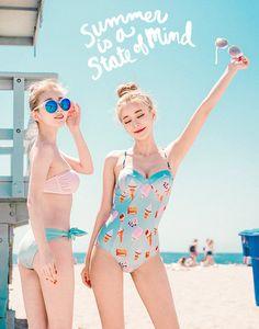 KOODING, a Korean fashion online shopping website, offers Korean women's bikinis for sale. Shop for Korean style womens bikinis online. Korean Fashion Online, Korean Fashion Trends, Asian Fashion, Fashion Styles, Trendy Fashion, Fashion Models, Girl Fashion, Fashion Outfits, Korean Bikini