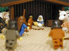 This is AWESOME! Almost every Bible story told verse by verse with Legos! So good! : )