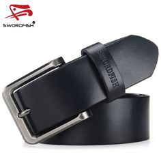 DINISITON New Vintage Classic Jean Pin Buckle Belts Business Casual Cinto Belt Men Black Brown Coffe cintos para homens preto TP