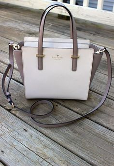 Kate Spade Cedar Street Small Hayden bag in pebble/warm putty